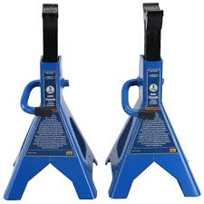 Husky 3 Ton Jack Stand (Pair)-MPL4124-HUSKY - The Home Depot Buy Jack Stands Alinum Durable Heavy Duty Car Truck Auto 3 Ton 2x Stand Ratchet Adjustable Lift Hoist Craftsman Ton High 6000lb 134 110 Scale Rc Crawler Acc 6 Metal 2pcs 1 Pair 2pcs For Cars And Trucks Dstocker 8 Ft Electric Pallet Jack Youtube Up Rider Pallet Blocks Instead Of Jack Stands Ford Enthusiasts Forums Nissan Frontier Recomended Top 20 Best Reviews 62017 On Flipboard Powerbilt 640912 Unijack Allinone Bottle