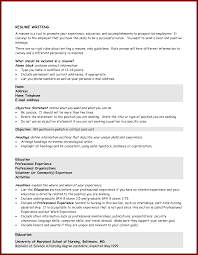 Using I In A Resume Objective by 100 Resume Objective Exles 100 Student Resume Objective