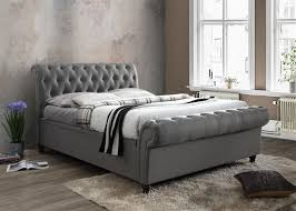 Super King Size Ottoman Bed by Castello Ottoman Storage Fabric 180cm 6ft Grey Super King Size Bed