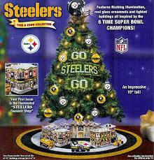 With The New Steelers Tree Theres No Need To Choose Between Big Guy Upstairs And Ben At Long Last You Can Celebrate Both Immaculate