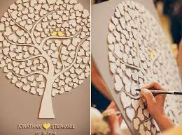 Wedding Guest Book 3D Alternative Custom Rustic Tree Gift CUTIE POP