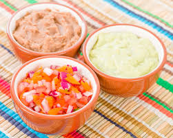 dips cuisine dips side dishes stock photo image of guacamole 50527004