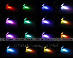 3w guful rgb led light bulb changing spotlight with 24key ir