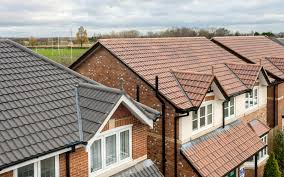 Monier Roof Tiles Colours by Double Roman Interlocking Concrete Tiles With Classic Roll Profile