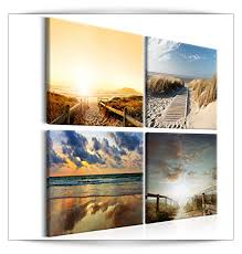 wandbilder modern strand leinwand bilder kunstdruck