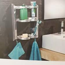 détails sur duschhänger etagère de salle de bain étagère murale étagère de salle de bains étagère afficher le titre d origine