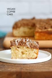vegan coffee cake recipe cinnamon streusel cake