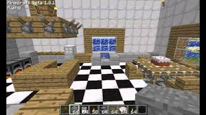 Minecraft Kitchen design and ideas