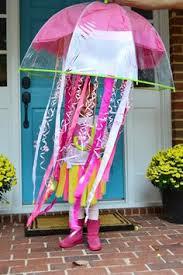 Diy Jellyfish Costume Tutorial 13 by Jellyfish Umbrella Hat Cute Halloween Costume Idea Holiday