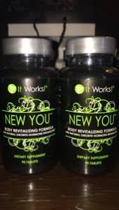 It Works SEALED 90 Tablets NEW YOU Body