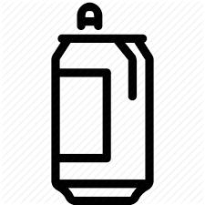 can coke drink pepsi soda trashcan icon
