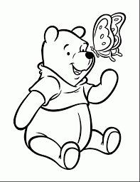 Astonishing Pooh Coloring Pages For Kids With Printable And