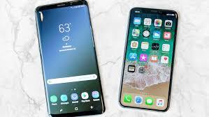 Samsung Galaxy S9 vs iPhone X Flagship Phones pared