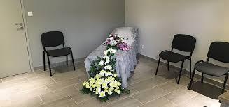 chambre funeraire érarium avec nos pompes èbres à jonzac en charente maritime