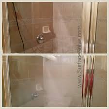 how to remove water stains from shower glass
