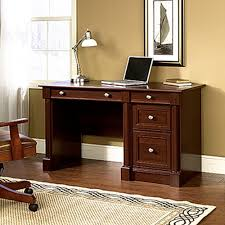 Sauder Desks At Walmart by Sauder Beginnings Cinnamon Cherry Desk With Storage 413073 The