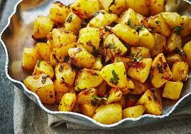 cuisiner la pomme de terre pommes de terre à la chermoula recettes de cuisine avec pommes de