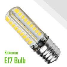 kakanuo e17 led bulb microwave oven light dimmable 5 watt warm
