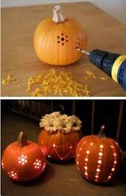 Pumpkin Carving Drill Holes by 70 Best Halloween Images On Pinterest Halloween Stuff Halloween