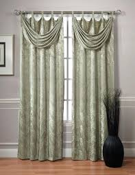Brylane Home Sheer Curtains by Sheer Curtains Attached Valance Terrific With Sheers U2013 Muarju