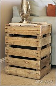 diy shelf made of reclaimed pallet wood pallets crates and