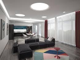 3d visualisierung wohnzimmer esszimmer küche zimmer