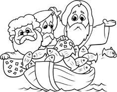 Bible Coloring Pages For Toddlers