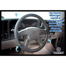 2003-2007 Chevy Silverado LT LS Z71 Leather Steering Wheel Cover ...