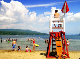 100 Million Dollar Beach Fecal Coliform Closes Lake Georges For Second
