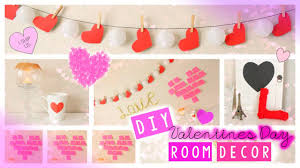 Valentines Paper Craft Idea Red Heart Shaped White Cup With Picture Wall Decoration