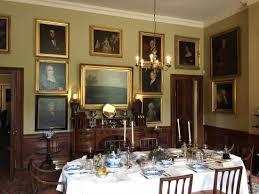 Georgian House Beautifully Decorated Dining Room