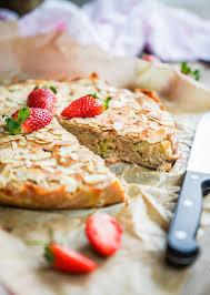 rezept erdbeer rhabarber kuchen mit selbstgemachtem