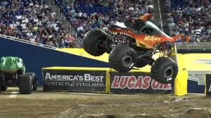100 Monster Truck Show Miami Megalodon Fire Cory Rummell Freestyle Jam 2019
