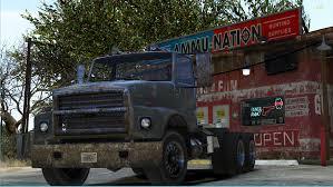 100 Semi Tow Truck Rust Bucket Replace And Add On GTA5Modscom