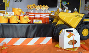 100 Tonka Truck Birthday Party Nestling Construction Reveal New To Shop
