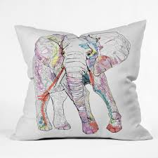 Pottery Barn Throw Pillows by Bedroom Rodeo Home Pillows Elephant Pillow Coral Throw Pillows
