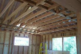 Ceiling Fan Joist Hangers by Problems Raising Existing Ceiling Joist And Attaching To Roof