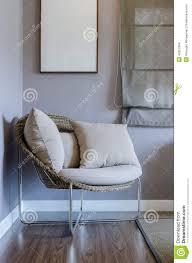 moderner stuhl im schlafzimmer stockfoto bild mode