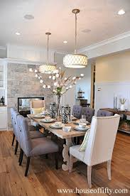 Inspiring Rustic Chic Dining Room Tables Rustic Glam Style Home