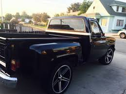 100 81 Chevy Truck My With 22 Iroc Rims Silverado Pinterest