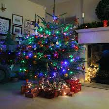 5ft Christmas Tree With Lights by Multi Coloured Xmas Tree Lights Roselawnlutheran