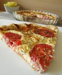 boursin cuisine recettes tarte à la tomate boursin
