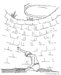 Bible Colouring Pages Web Art Gallery Story Of Joseph Coloring