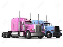 100 Semi Truck Toy Pink And Blue Modern Big Semi Trailer Trucks
