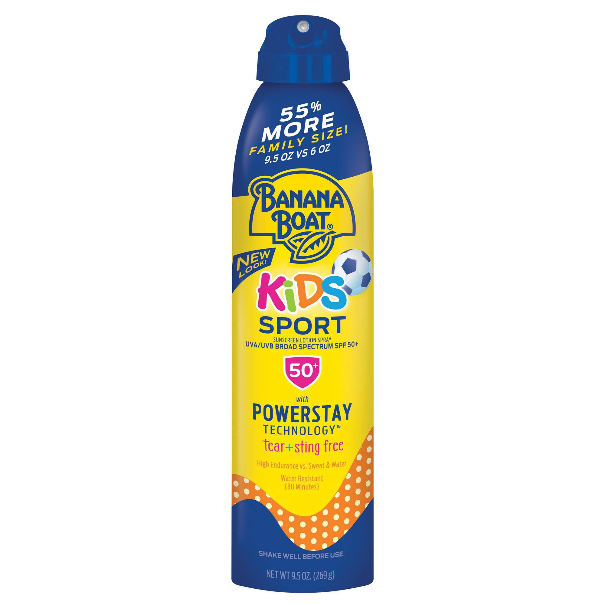 Banana Boat Kids Tear Lotion Spray - SPF 50, 9.5oz