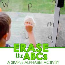 ERASE THE ALPHABET A Fun And Simple Alphabet Activity That Toddlers Preschoolers Will Love