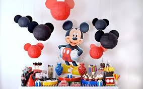 Bud ing Mickey Mouse Party Decorations For Children