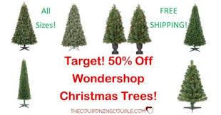 50 Off Wondershop Christmas Trees Target ALL Sizes