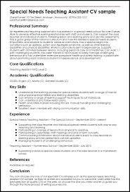Graduate Teaching Assistant Resume Examples