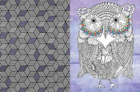 Amazon Posh Adult Coloring Book Art Therapy For Fun Relaxation Books 0050837335691 Andrews McMeel Publishing